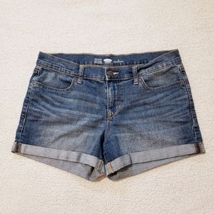 Old Navy Semi Fitted Stretch Jean Shorts